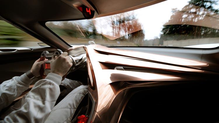 Concept-car GTbyCitroën - Une concentration maximale