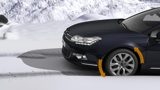 Citroën C5 Tourer - Contrôle de traction intelligent