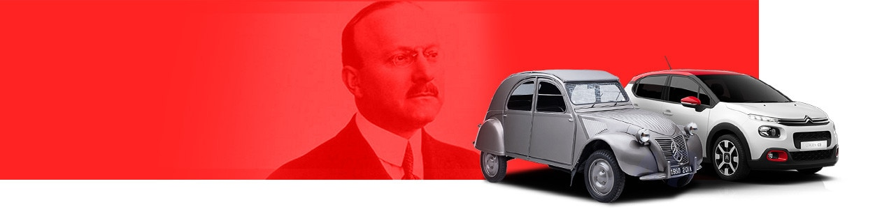 Citroën, 100 ans d'audace et d'innovations.