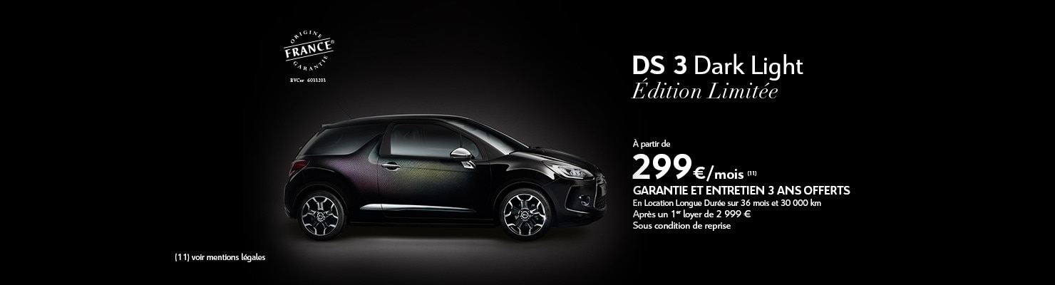 DS 3 Dark Light