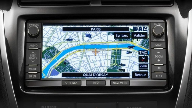 Citroën C4 Aircross - Navigation tactile