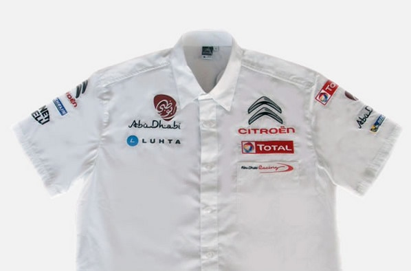 Boutique Citroën Racing - Chemise Homme Abu Dhabi Racing