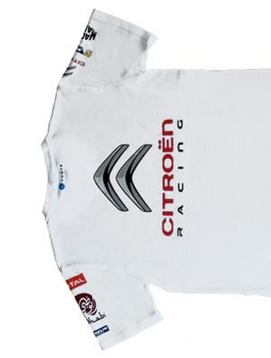 Boutique Citroën Racing - T.Shirt Homme Abu Dhabi Racing
