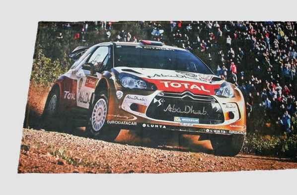 Boutique Citroën Racing - Drap de bain DS3 WRC