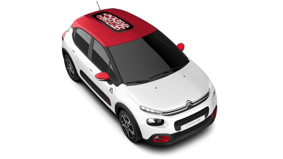 Citroen nouvelle c3 graphic citro n france for Toit en polycarbonate transparent