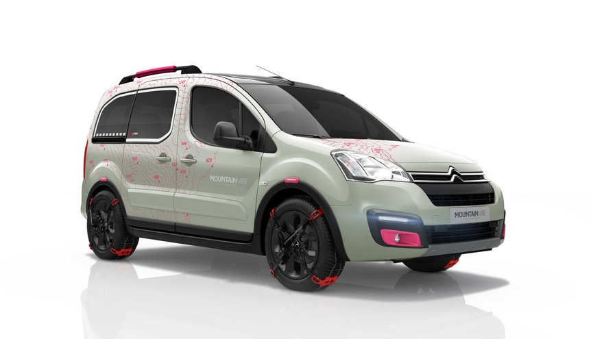 Berlingo Concept Mountain Vibe