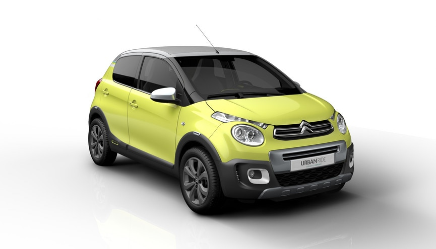 Voici Citroën C1 Concept Urban Ride !