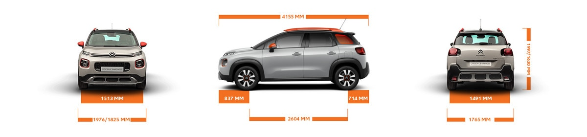 Dimensions C3 Aircross Business