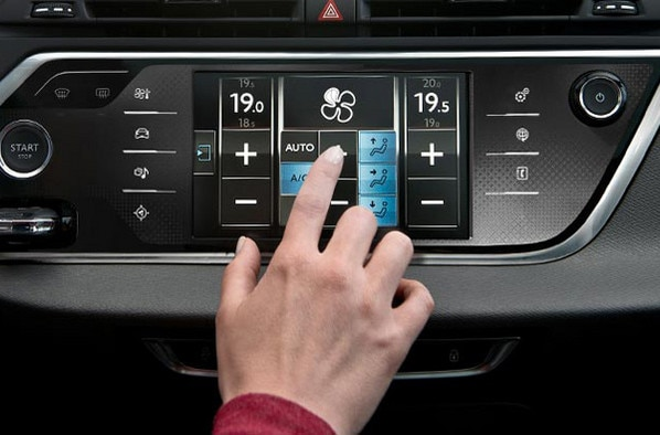 Citroën Grand C4 Picasso - Tablette tactile