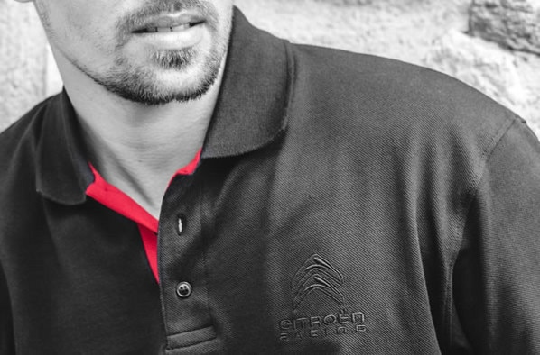 Citroën LifeStyle - Polo homme Racing t.L