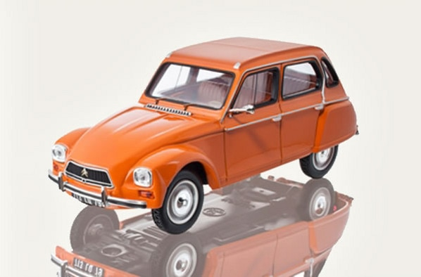 Citroën LifeStyle - Citroën Dyane Orange Ténéré 1974 1/43