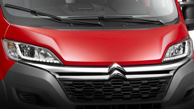 Nouveau Citroën Jumper - Design Optimiste