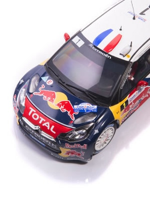 Citroën LifeStyle - Citroën DS3 WRC Loeb & Elena France 2012 1/18