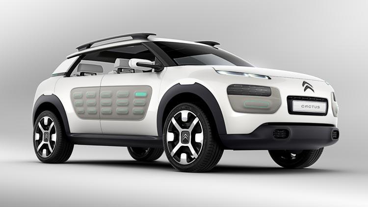 Concept-car Citroën Cactus - Un design pur