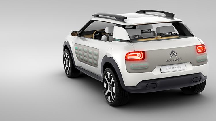 Concept-car Citroën Cactus - Un design fonctionnel