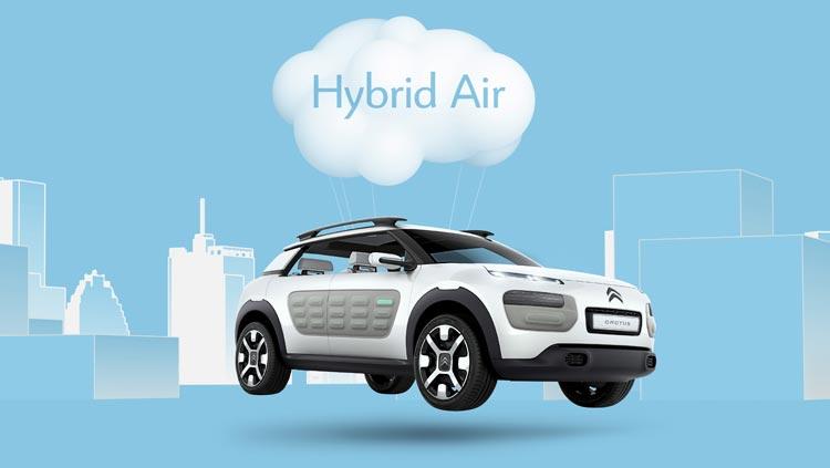 Concept-car Citroën Cactus - Des technologies faciles à vivre