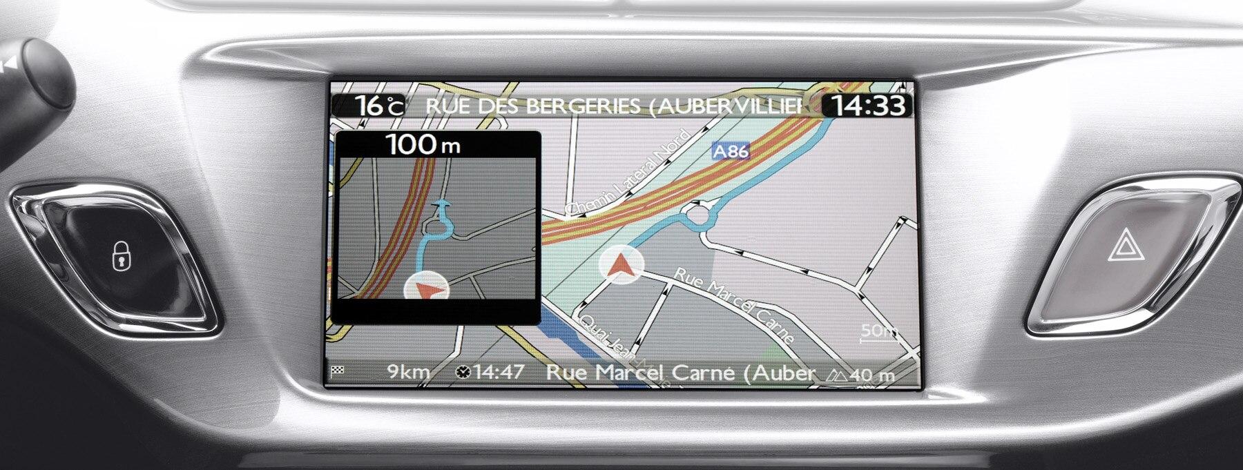 Les systèmes de navigation Citroën