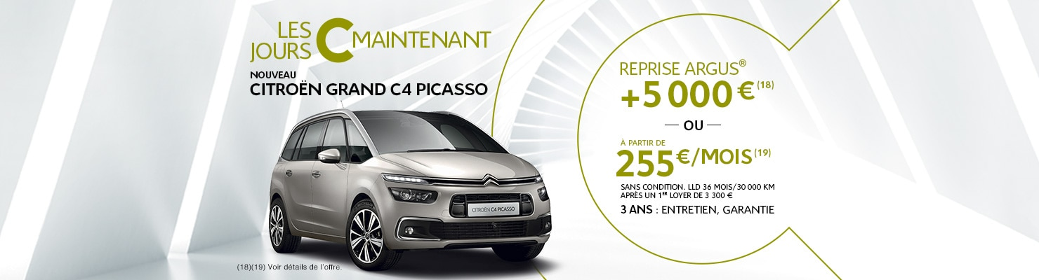 nouveau citroen grand c4 picasso offres et promotions citro n france. Black Bedroom Furniture Sets. Home Design Ideas