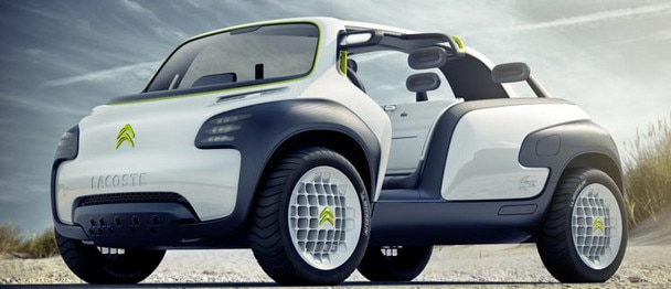 Concept-car Citroën Lacoste - Accessibilité
