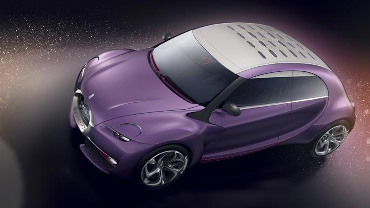 Concept-car Citroën Revolte - Une silhouette dynamique