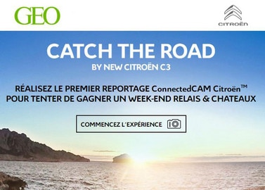 « CATCH THE ROAD by New Citroën C3 »