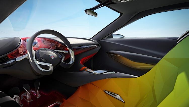 Concept-car Citroën Hypnos - Un espace intérieur créatif