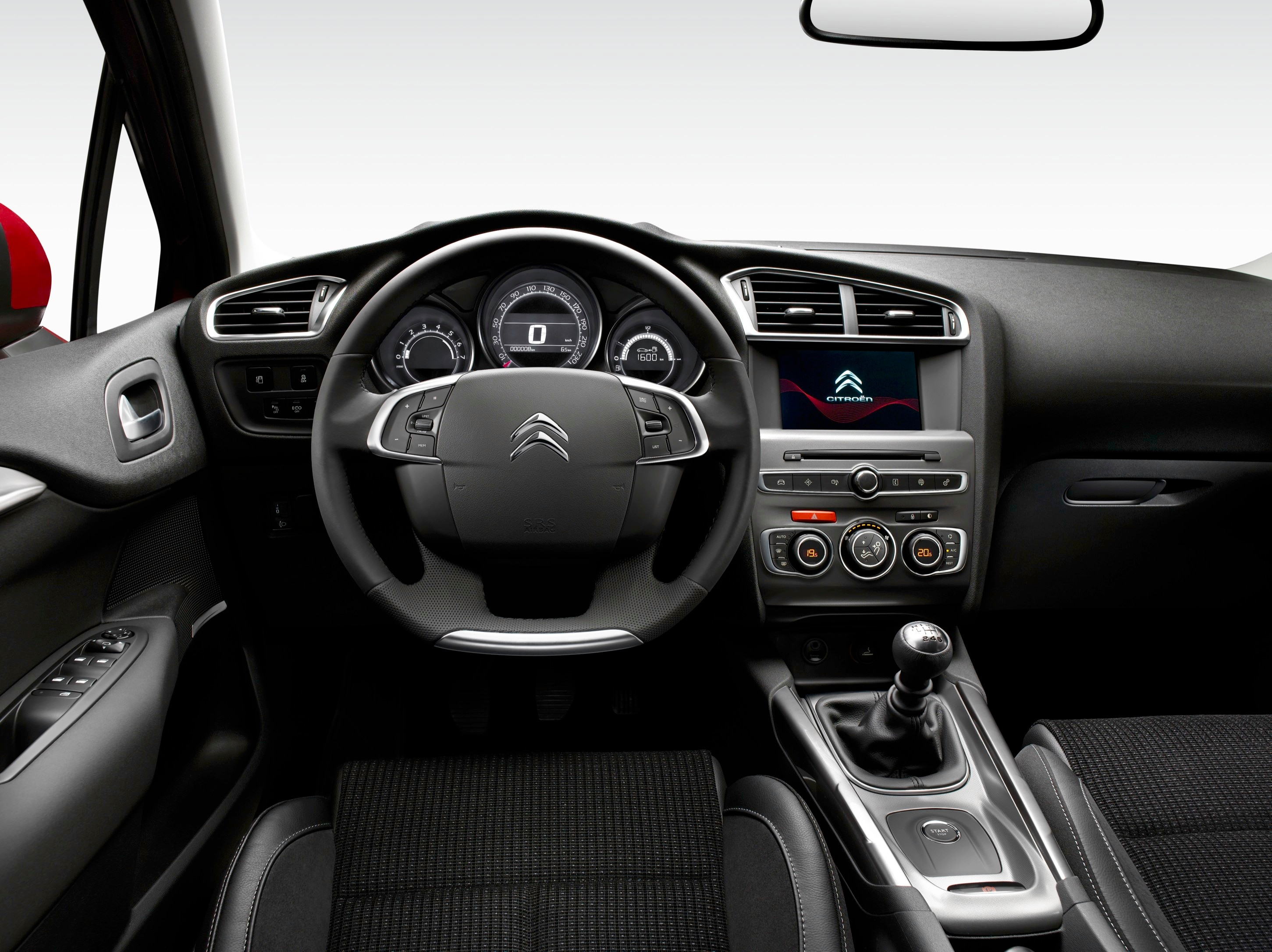 Citroen c4 interieur