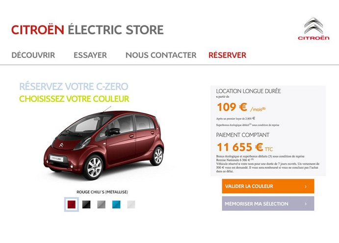 CITROEN_Electric_store