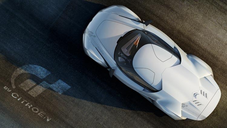 Concept-car GTbyCitroën - Une silhouette élancée