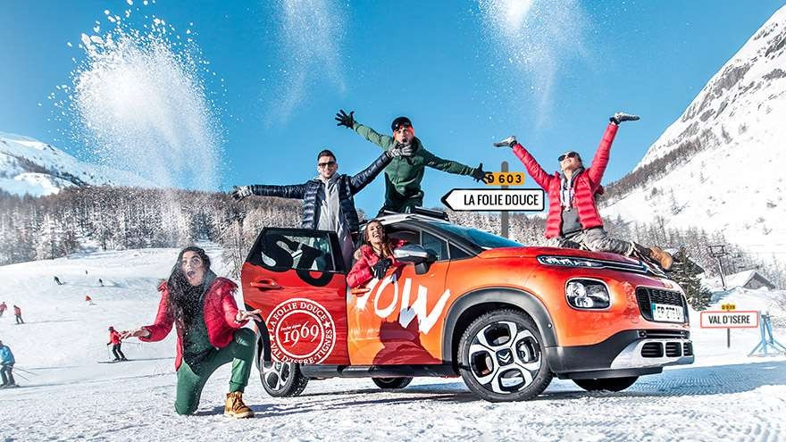 C3 aircross folie douce
